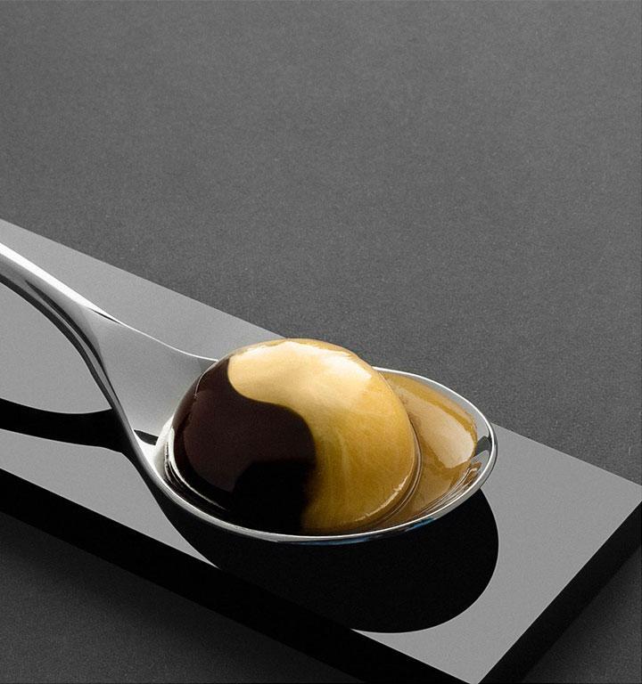 Receta huevo de caserío trufado